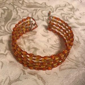 Jewelry - Homemade beaded choker necklace..